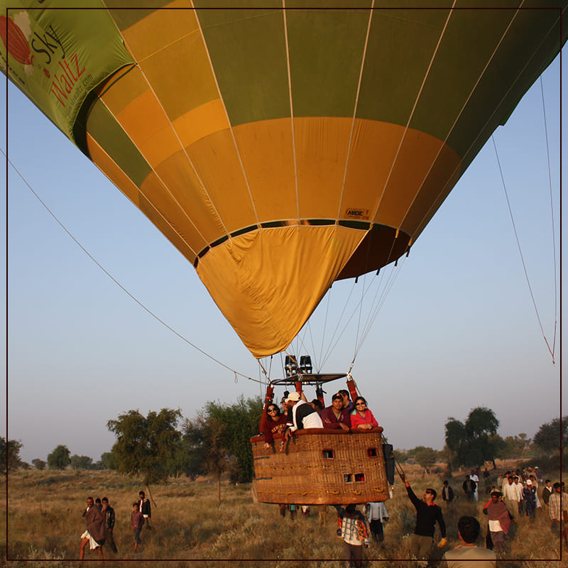You Can Go On Hot Air Balloon Ride And Enjoy The Beauty Of The State.