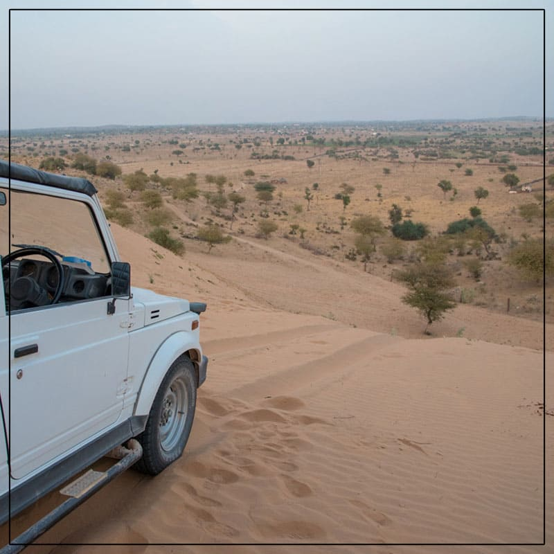 At Osian Resort Camps, we offer camel safari to our clients