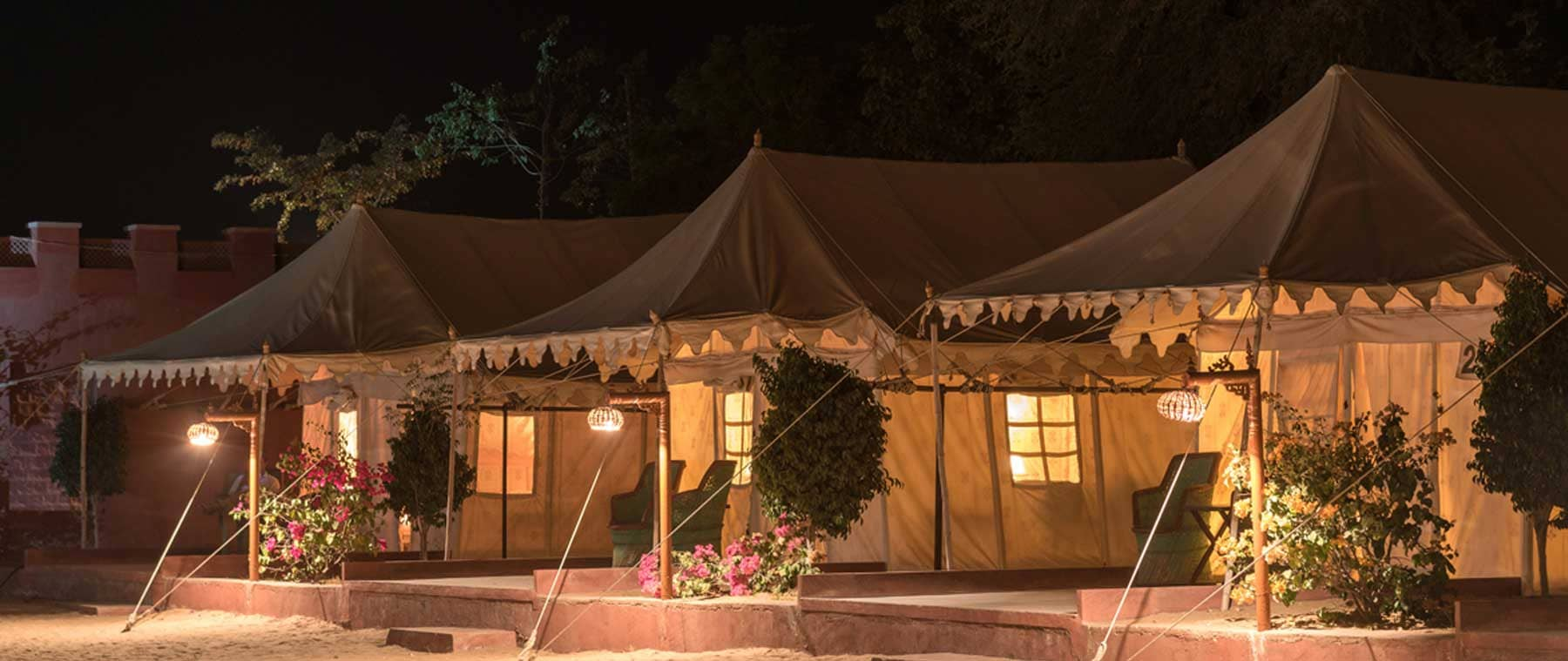 Enjoy evening program and stay packages only at Camps in Rajasthan