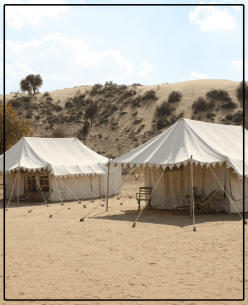 Experience a dream like vacation while spending time with us at rajsthan resort camp.