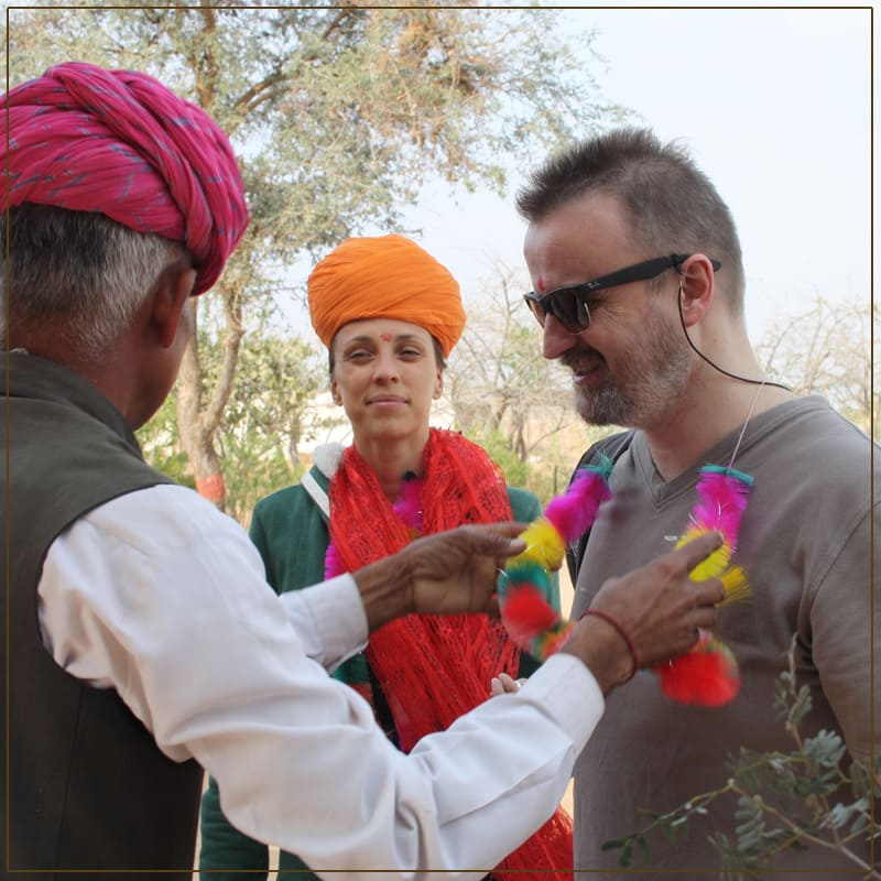 Capture the beautiful tredition of rajasthani culture